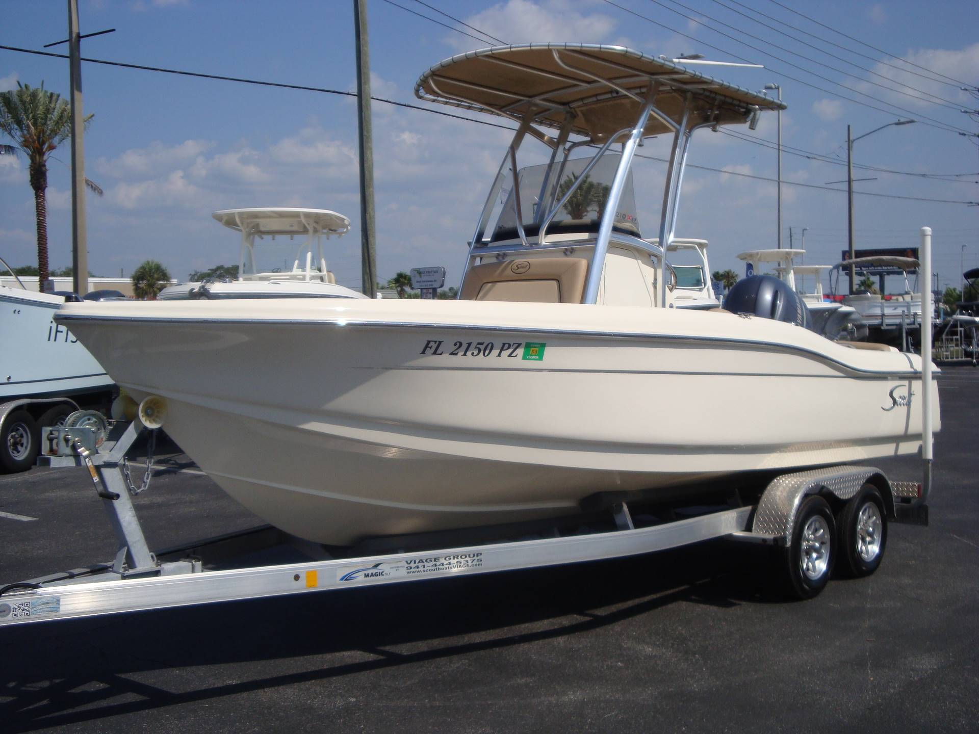 2016 Scout Boats 210 XSF in Holiday, Florida - Photo 4