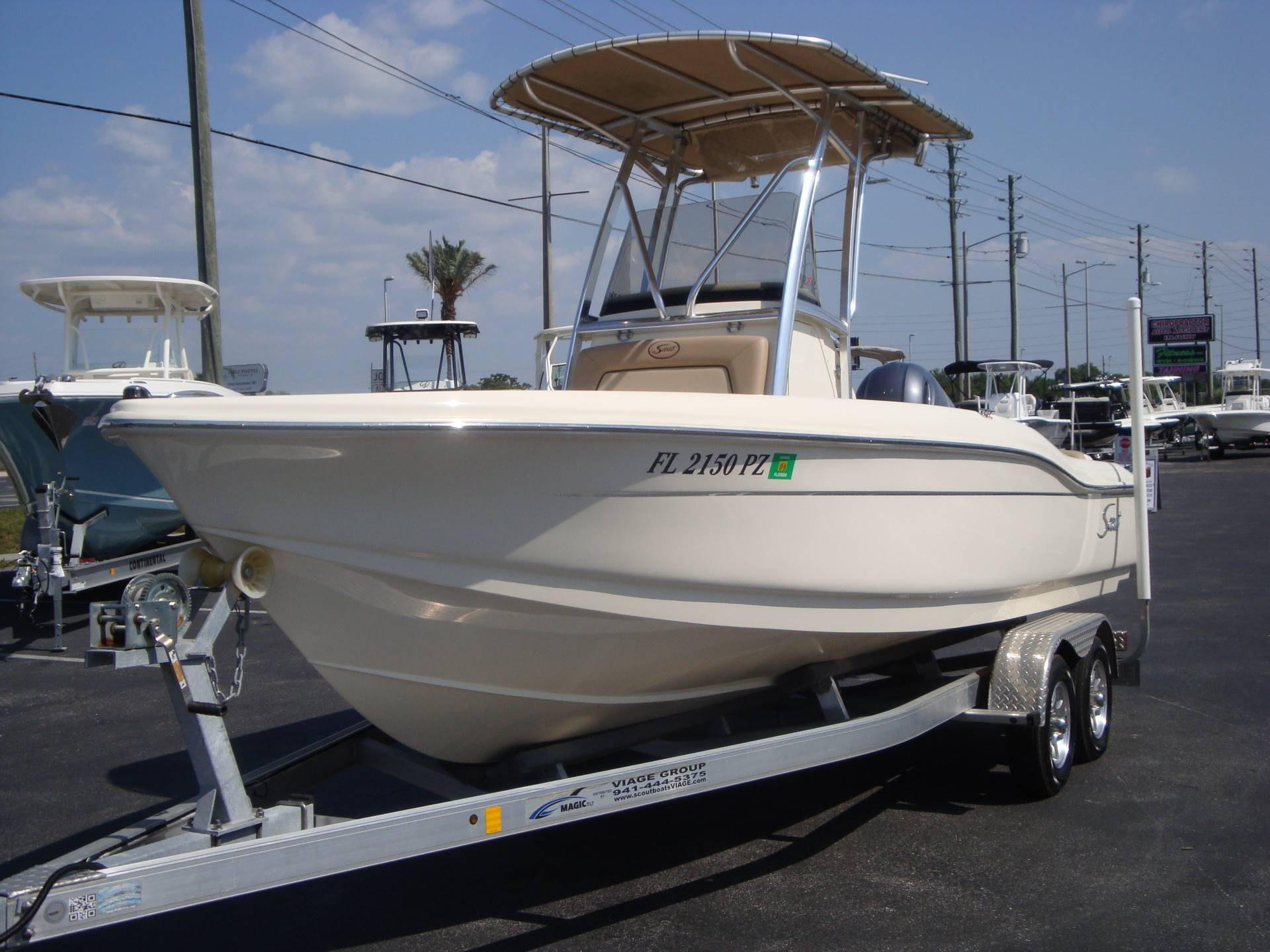 2016 Scout Boats 210 XSF in Holiday, Florida - Photo 6