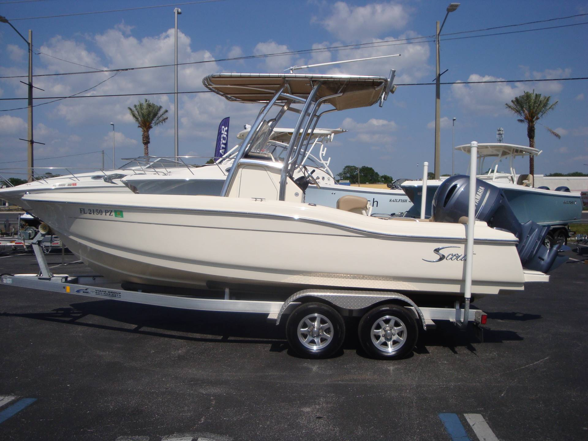 2016 Scout Boats 210 XSF in Holiday, Florida - Photo 10