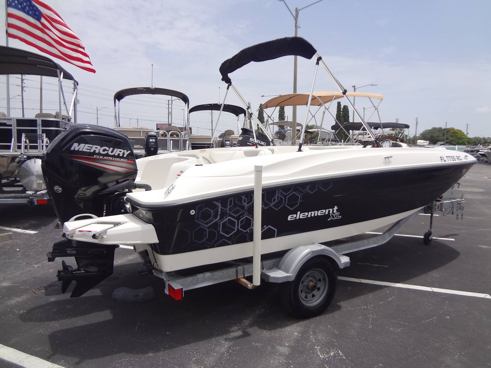 2016 Bayliner(Private) ELEMENT XL in Holiday, Florida - Photo 12