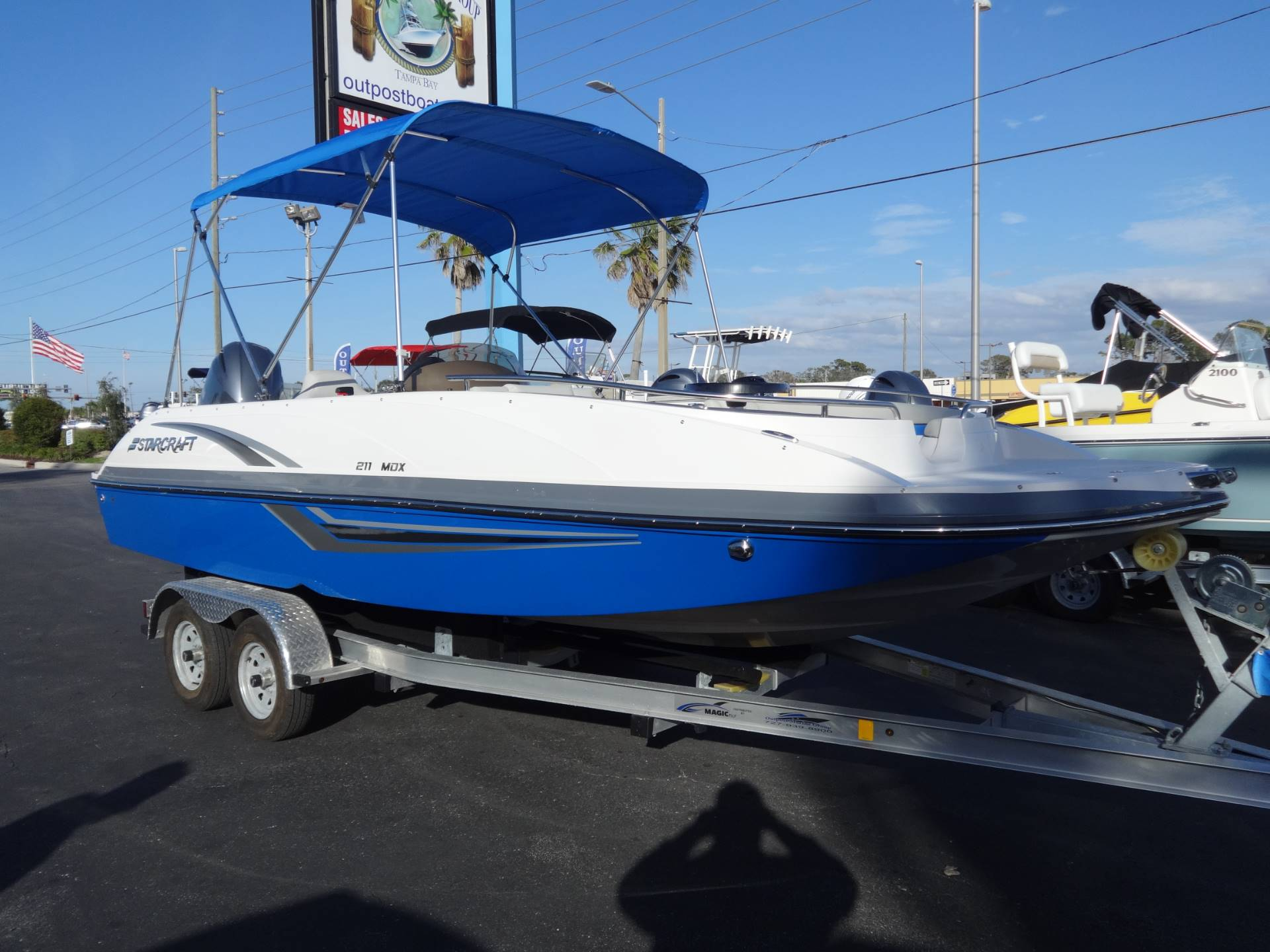2018 Starcraft MDX 211 E OB in Holiday, Florida - Photo 1