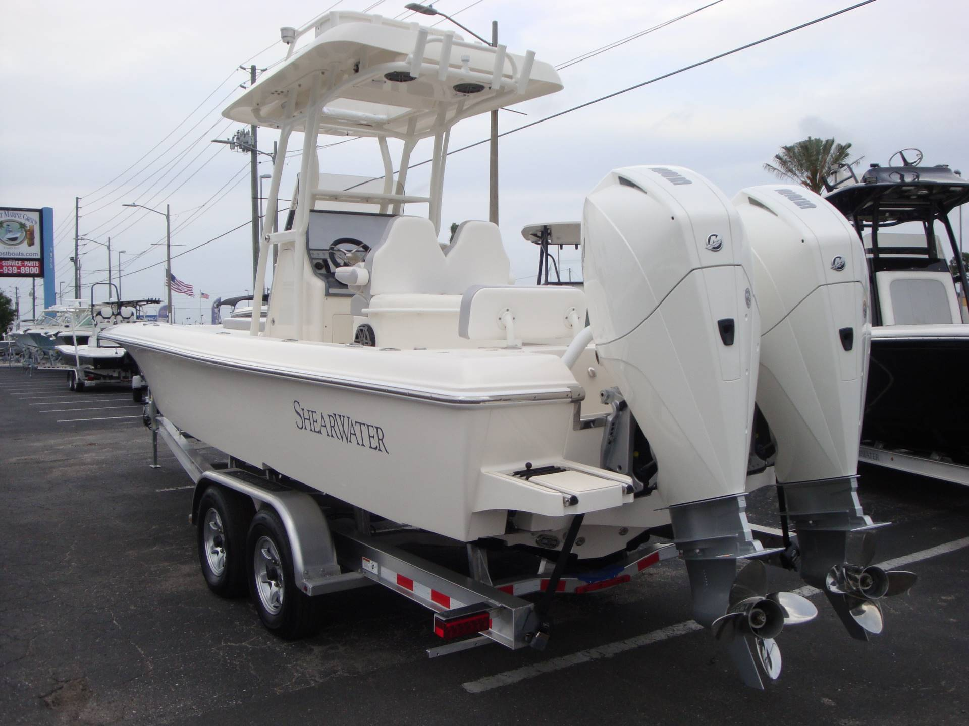 New 2019 ShearWater 270 Carolina Bay TE Power Boats Outboard