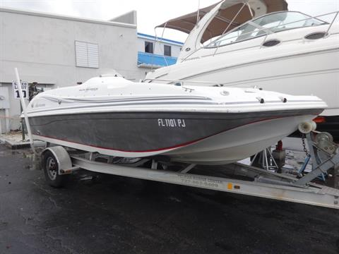 2012 Hurricane SunDeck Sport 188 OB in Holiday, Florida