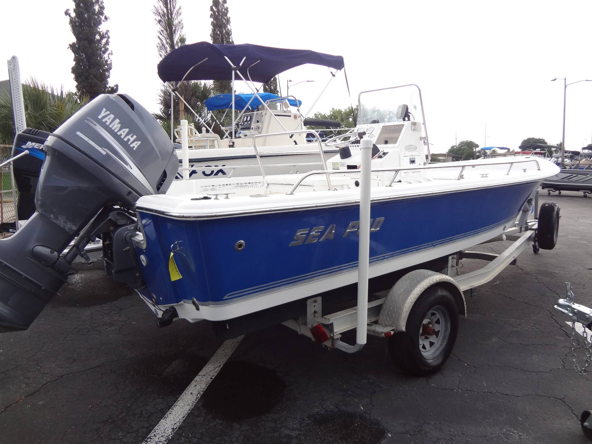2005 Sea Pro SV1900CC Bay Boat in Holiday, Florida - Photo 9