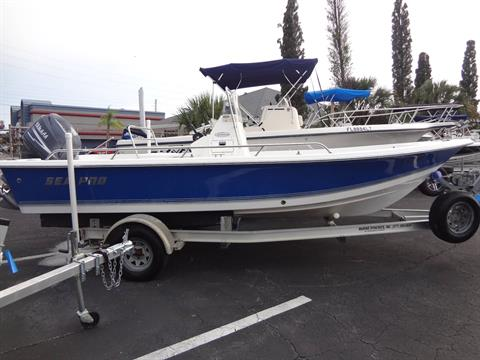 2005 Sea Pro SV1900CC Bay Boat in Holiday, Florida - Photo 10