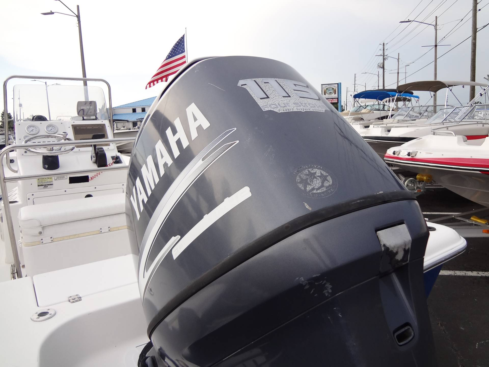 2005 Sea Pro SV1900CC Bay Boat in Holiday, Florida - Photo 12