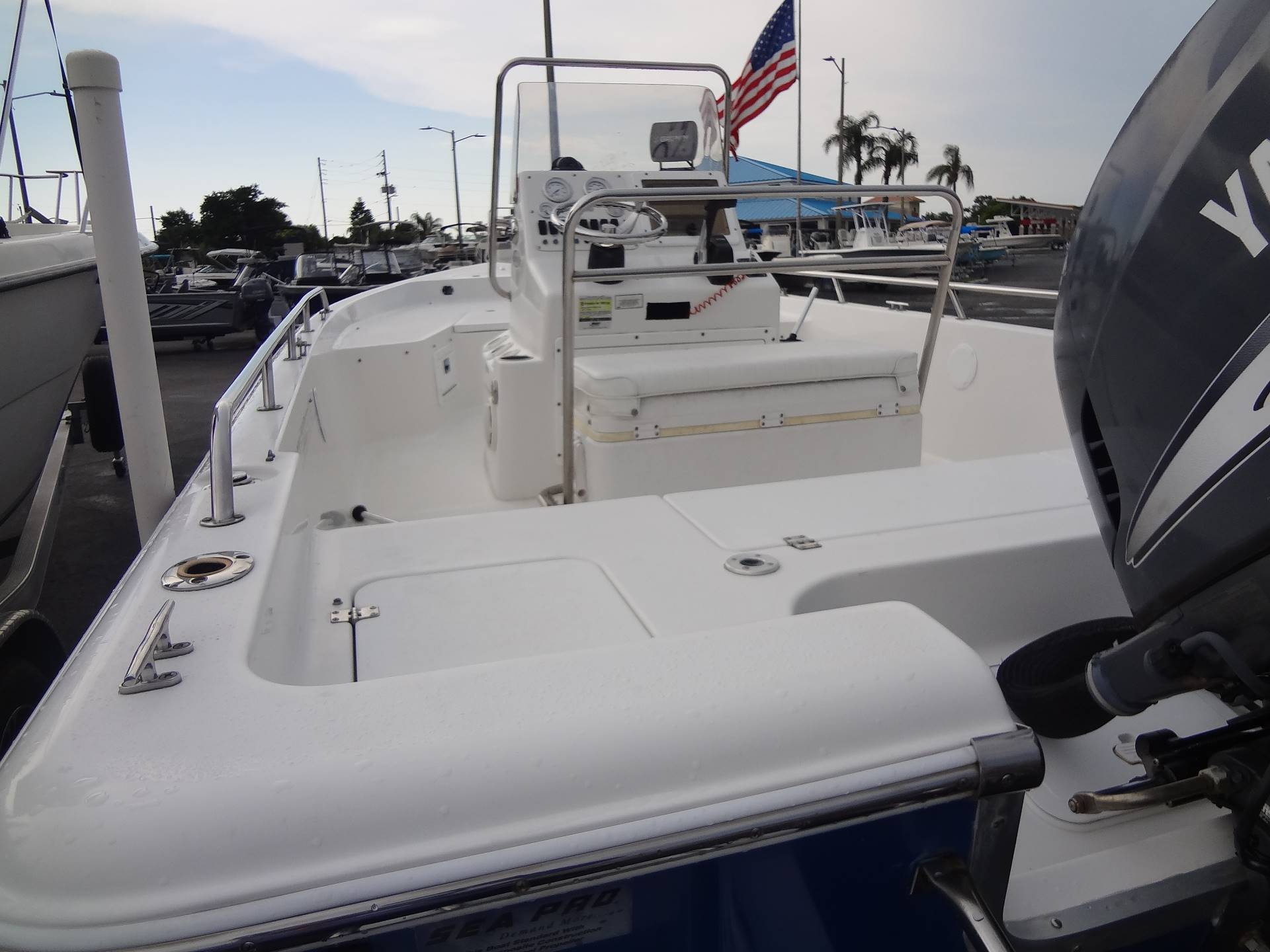 2005 Sea Pro SV1900CC Bay Boat in Holiday, Florida - Photo 16