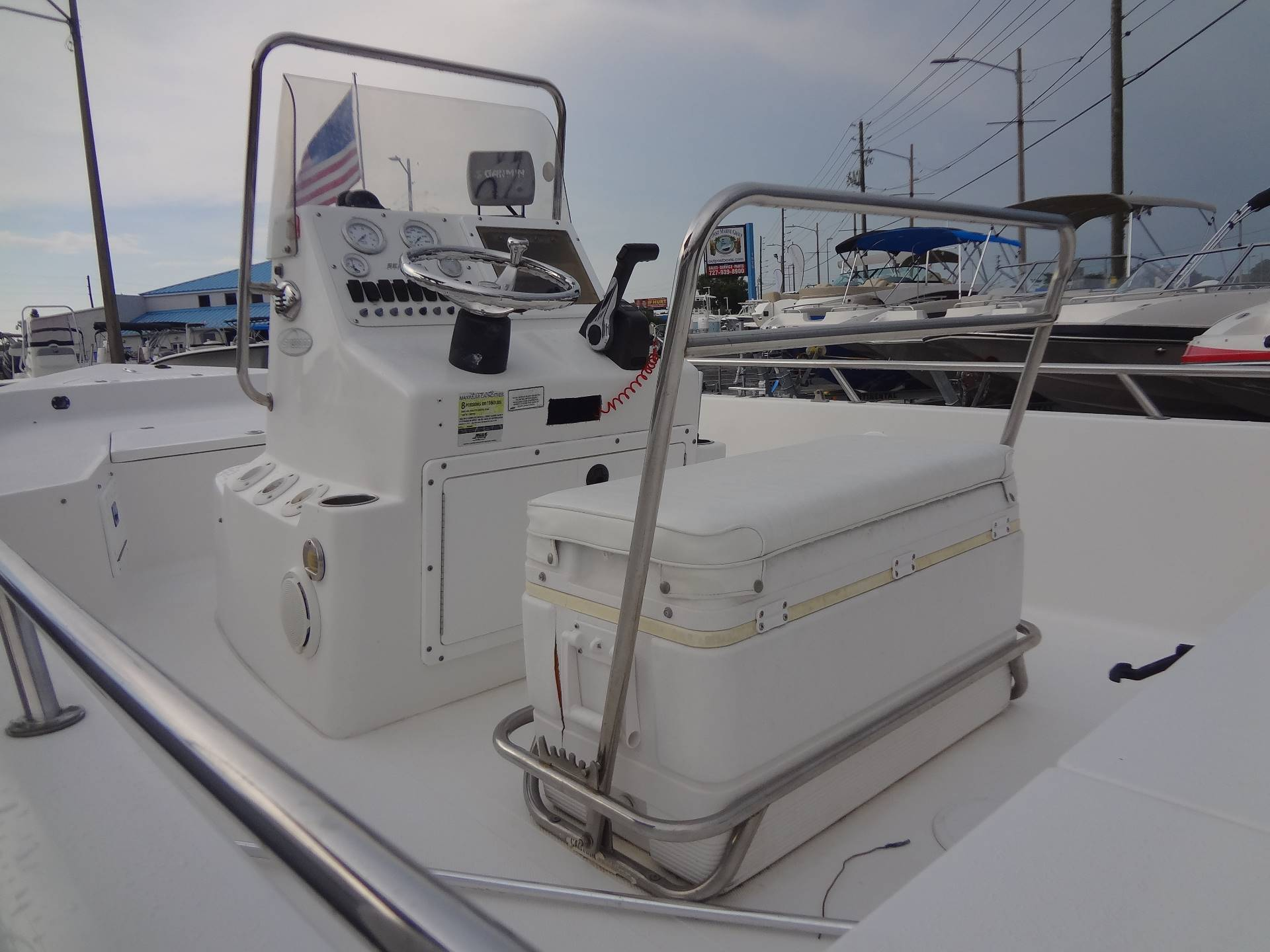 2005 Sea Pro SV1900CC Bay Boat in Holiday, Florida - Photo 18