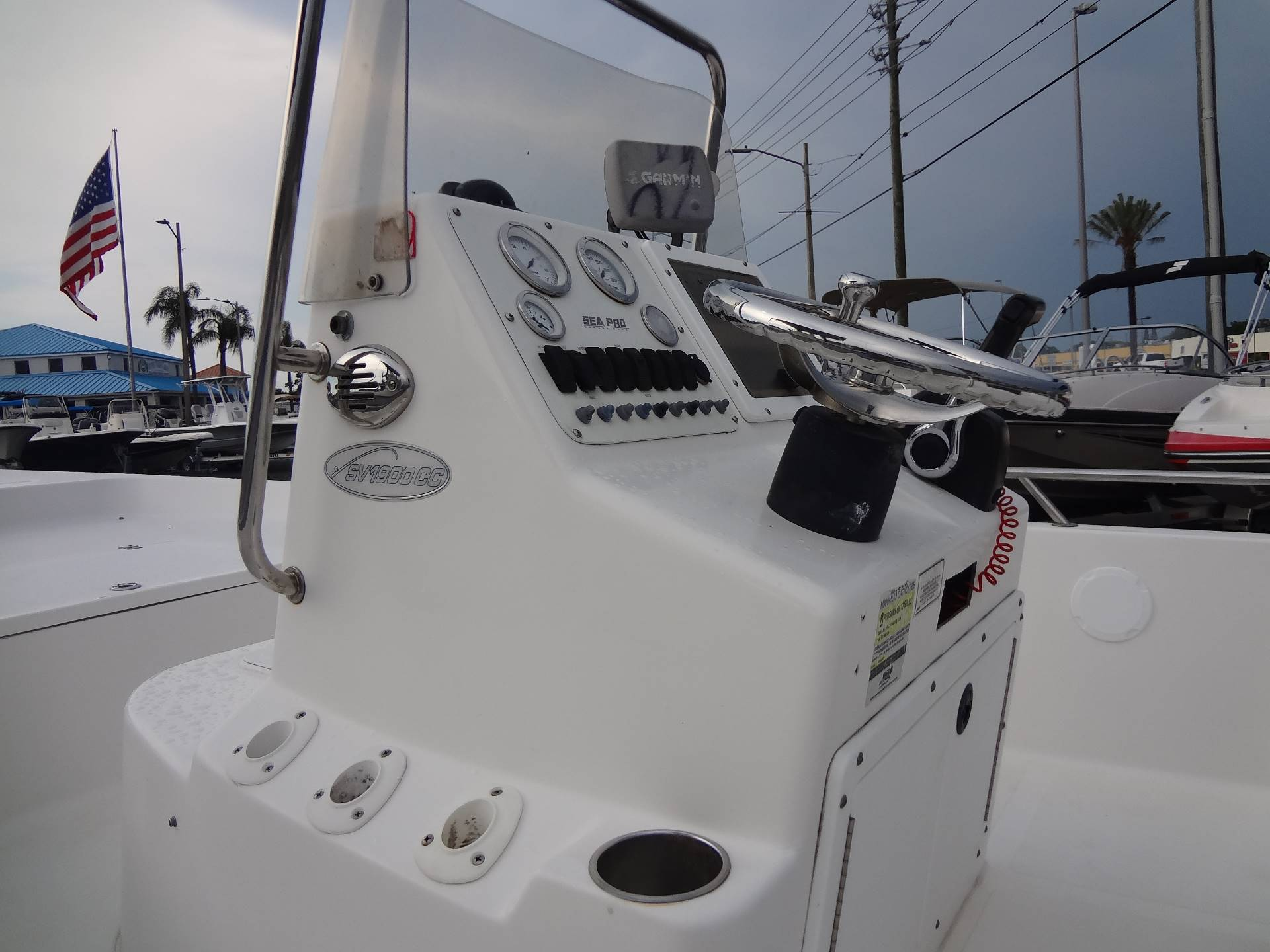 2005 Sea Pro SV1900CC Bay Boat in Holiday, Florida - Photo 20