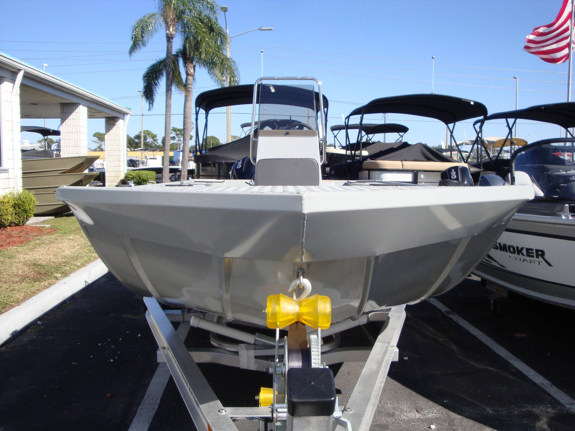 2018 Smoker Craft 1866 Sportsman Pro in Holiday, Florida