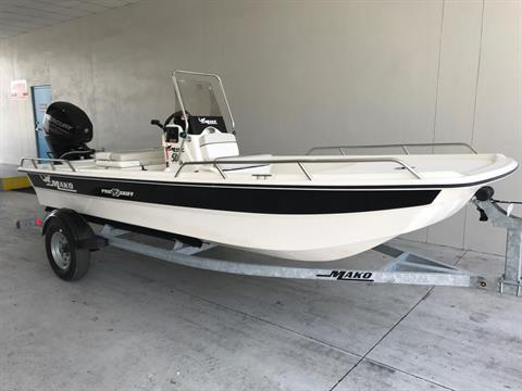 2017 Mako Pro 16 Skiff CC in Holiday, Florida