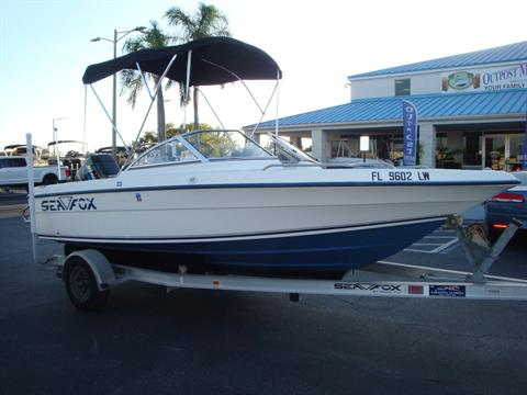 2002 Sea Fox 185 Dual Console in Holiday, Florida
