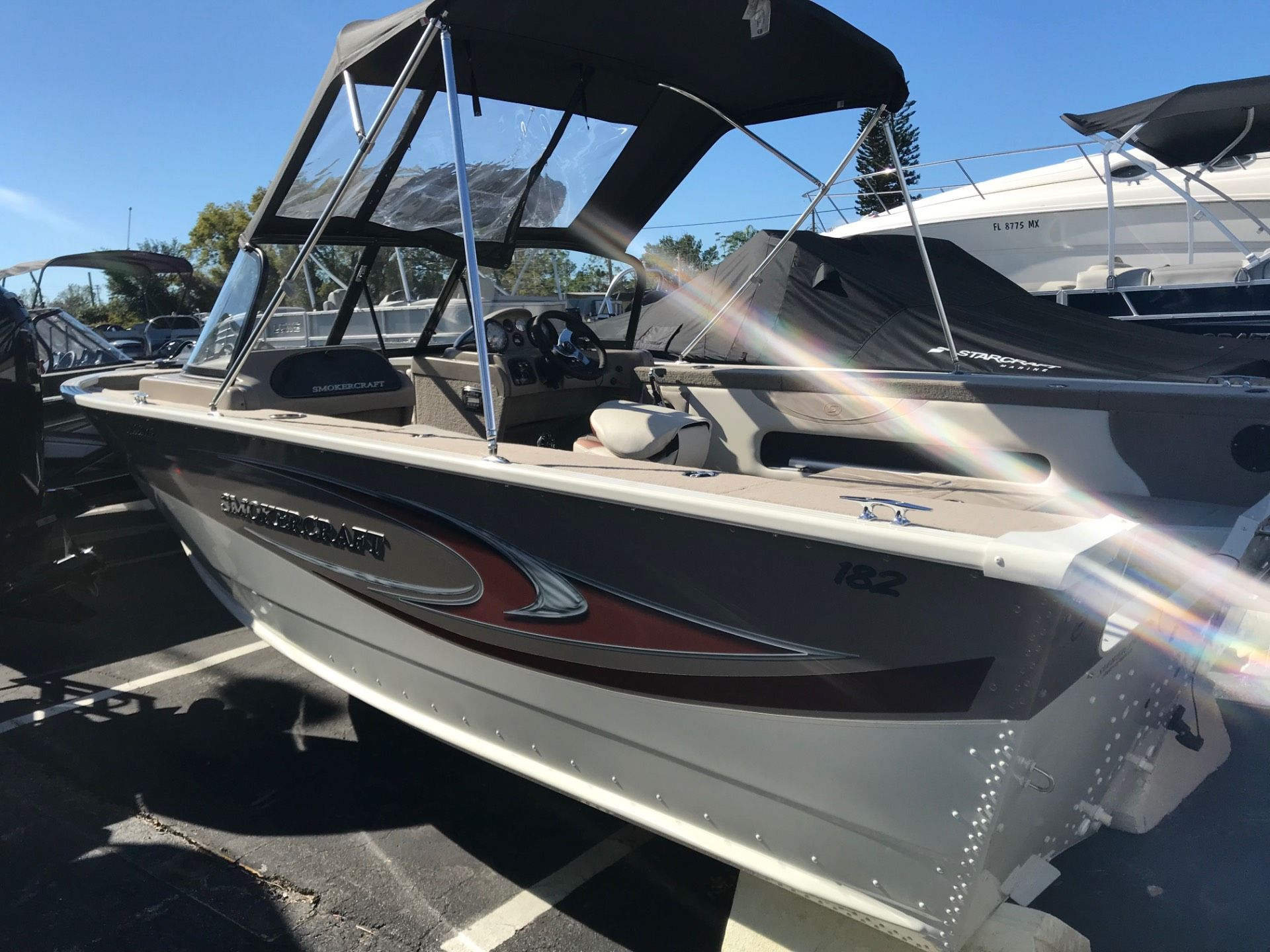 2015 Smoker Craft 182 Ultima in Holiday, Florida