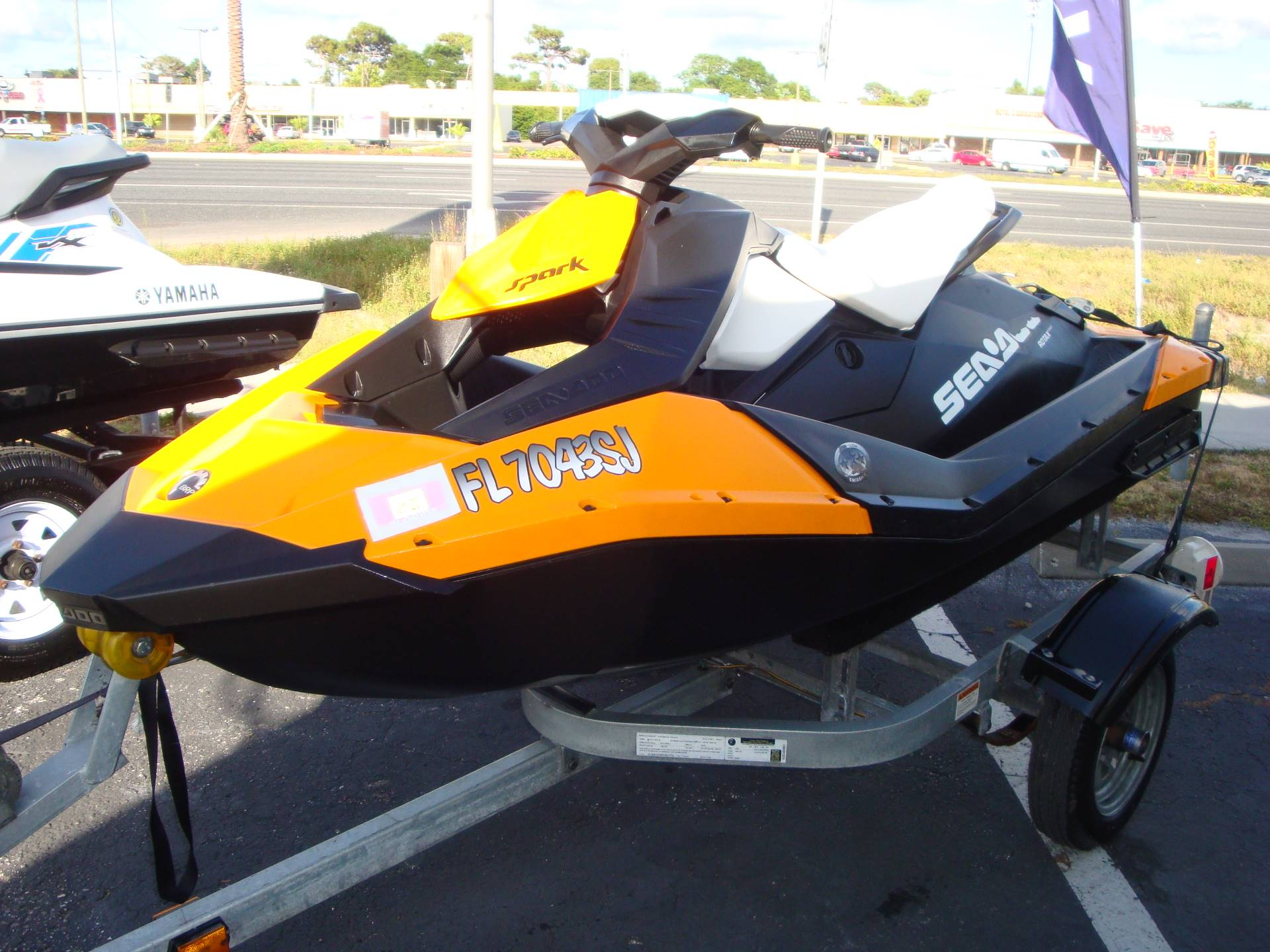 2015 Sea-Doo Spark 2up Rotax® 900 ACE™ in Holiday, Florida - Photo 1