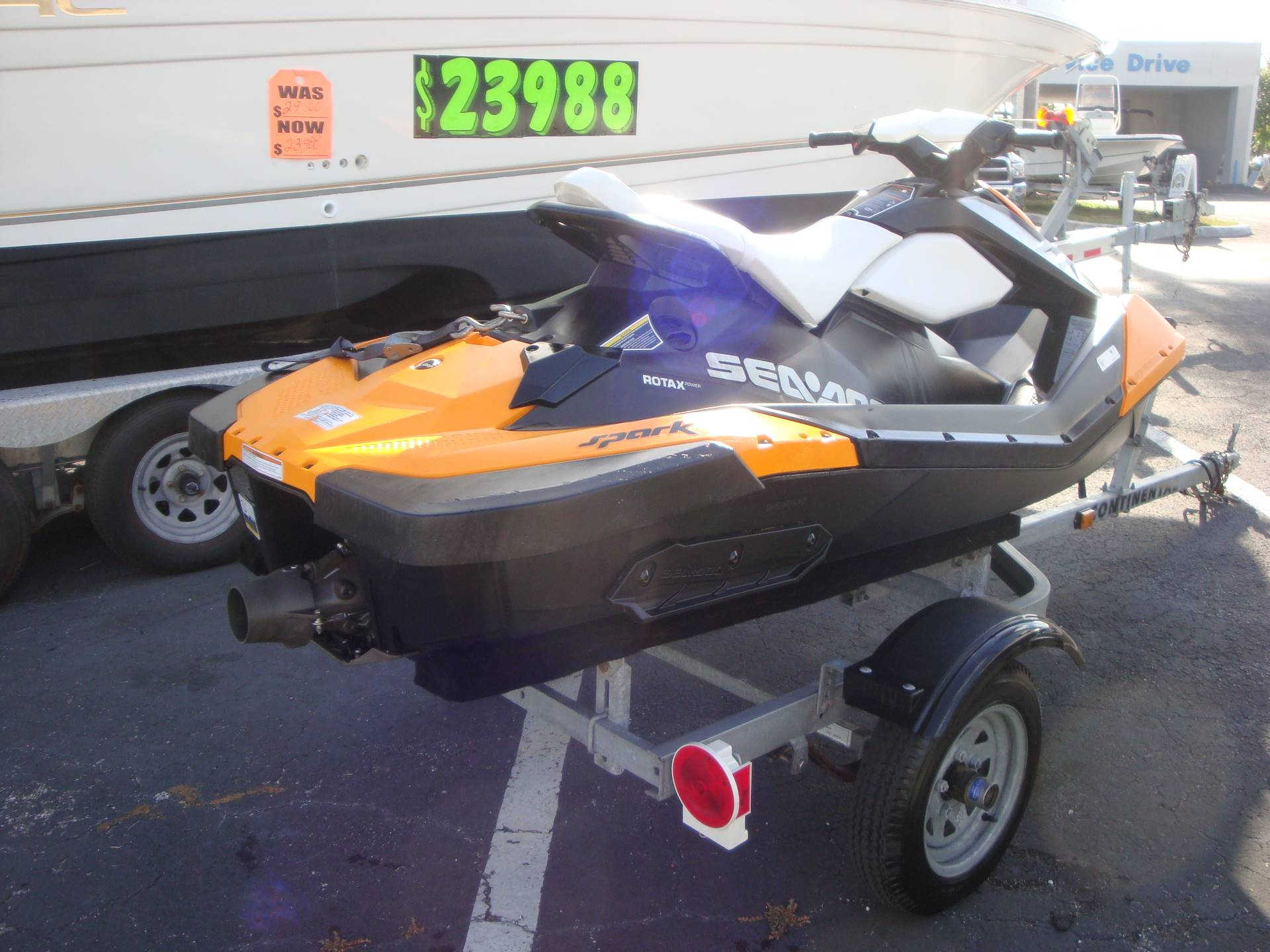 2015 Sea-Doo Spark 2up Rotax® 900 ACE™ in Holiday, Florida - Photo 5