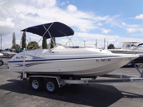 2005 Hurricane GS 202 FUNDECK in Holiday, Florida