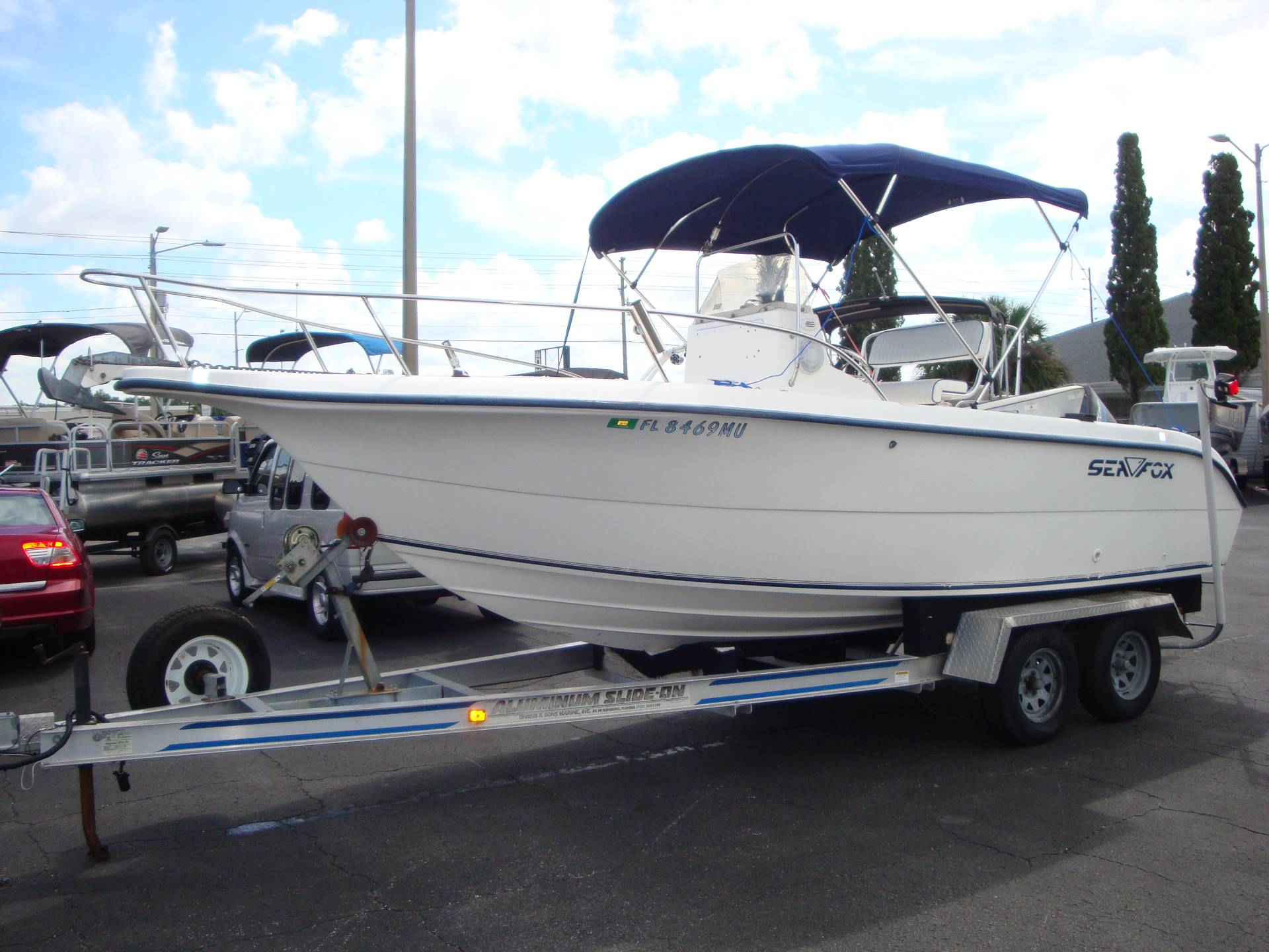 2002 Sea Fox 210 Center Console in Holiday, Florida