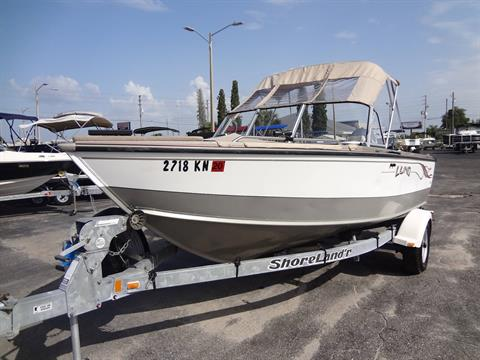 2002 Lund 1700 Fisherman OB in Holiday, Florida
