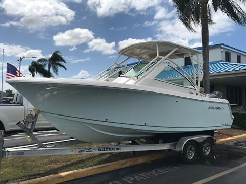2018 Sailfish 245 DC in Holiday, Florida