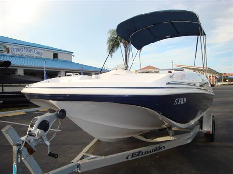 2014 Hurricane SunDeck Sport 188 OB in Holiday, Florida - Photo 2