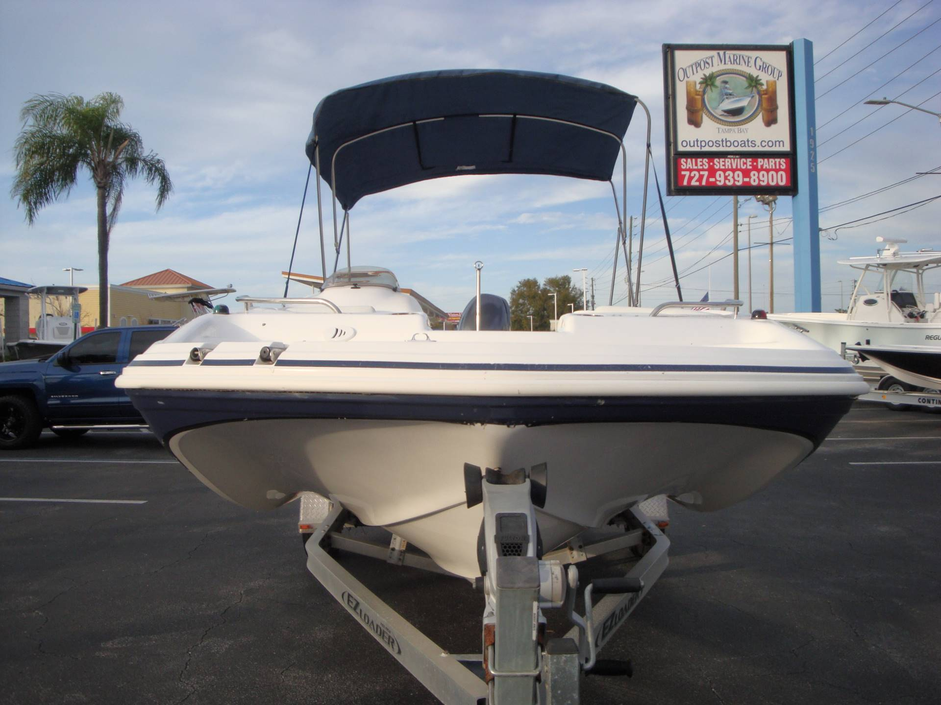 2014 Hurricane SunDeck Sport 188 OB in Holiday, Florida - Photo 3
