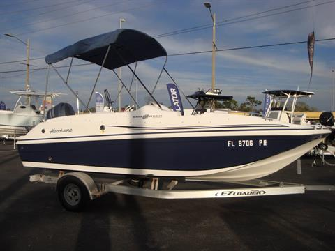 2014 Hurricane SunDeck Sport 188 OB in Holiday, Florida - Photo 6