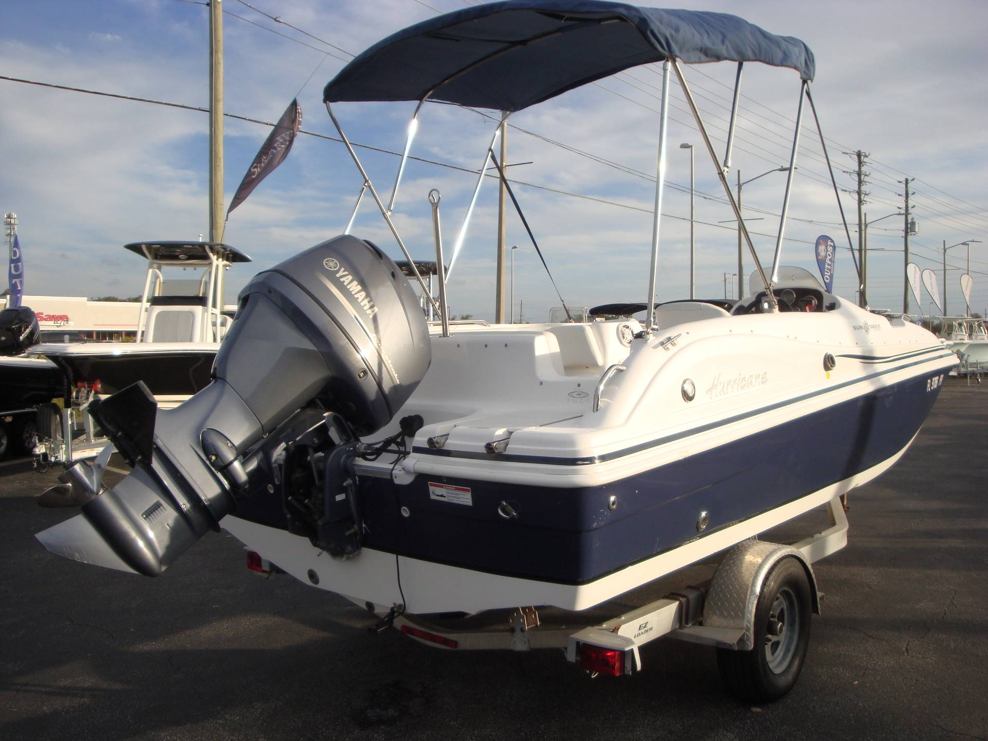 2014 Hurricane SunDeck Sport 188 OB in Holiday, Florida - Photo 10