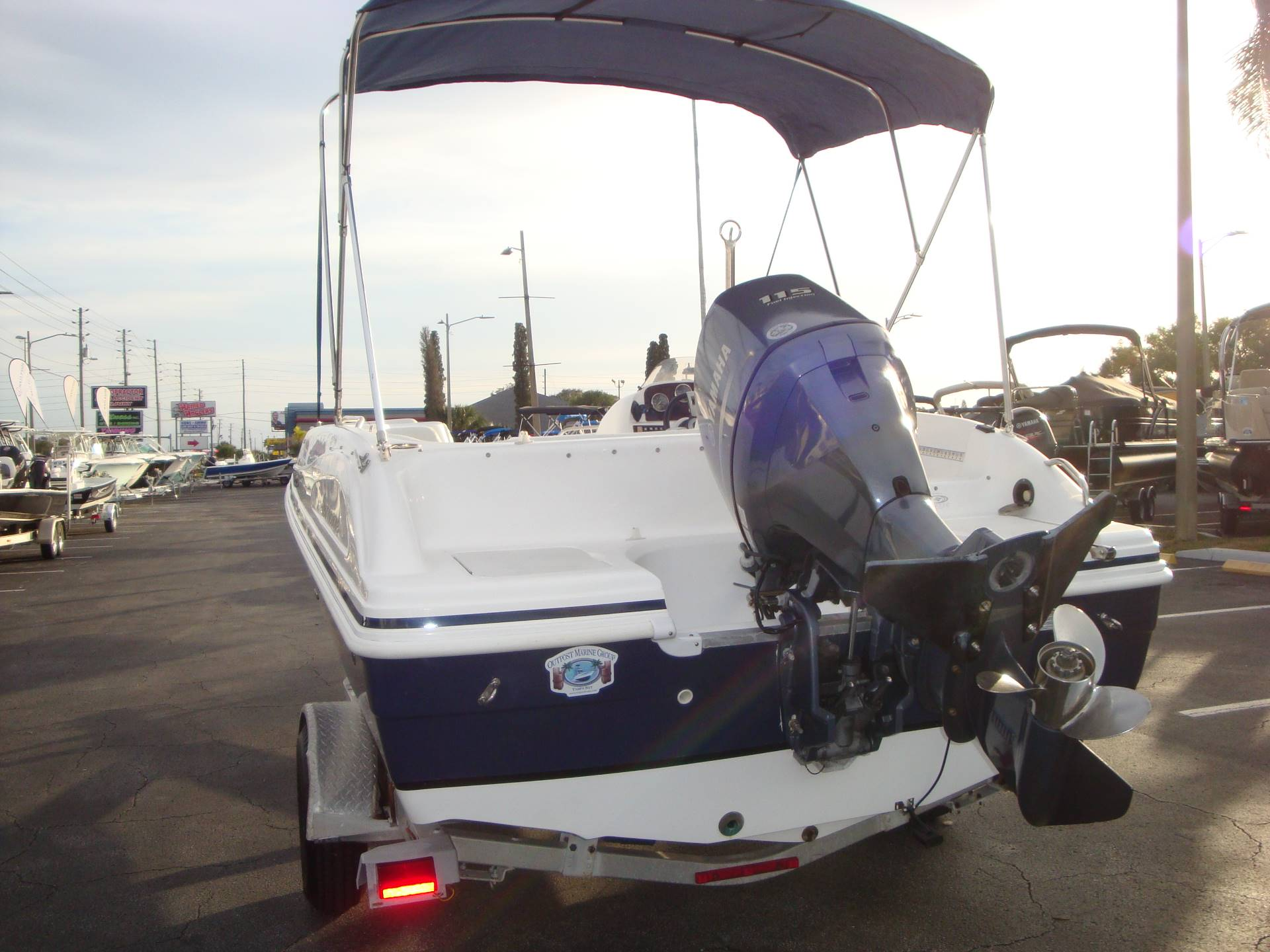 2014 Hurricane SunDeck Sport 188 OB in Holiday, Florida - Photo 12