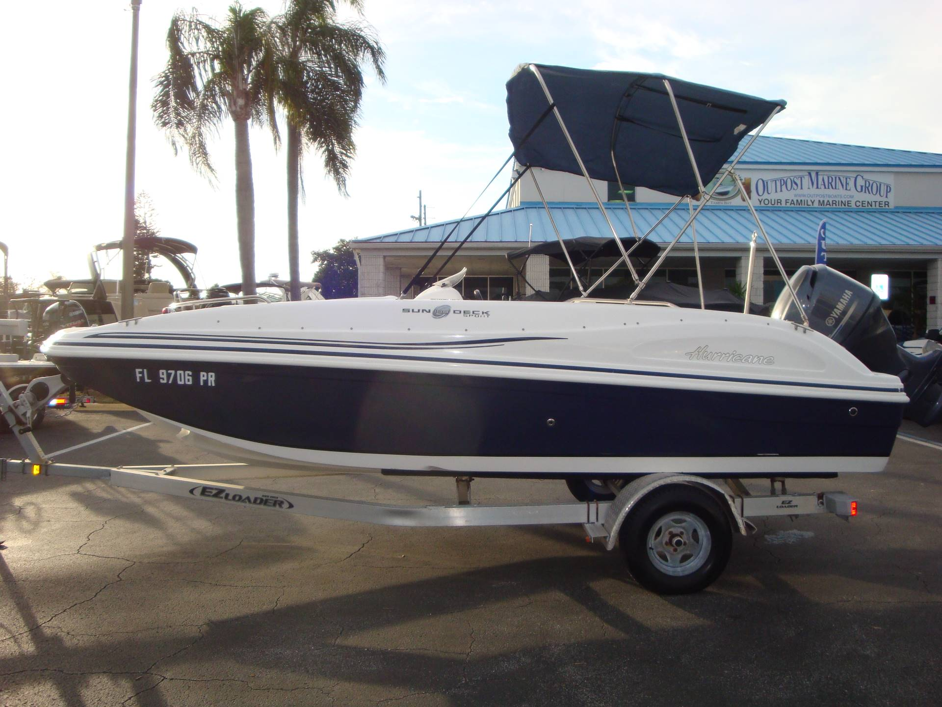 2014 Hurricane SunDeck Sport 188 OB in Holiday, Florida - Photo 15
