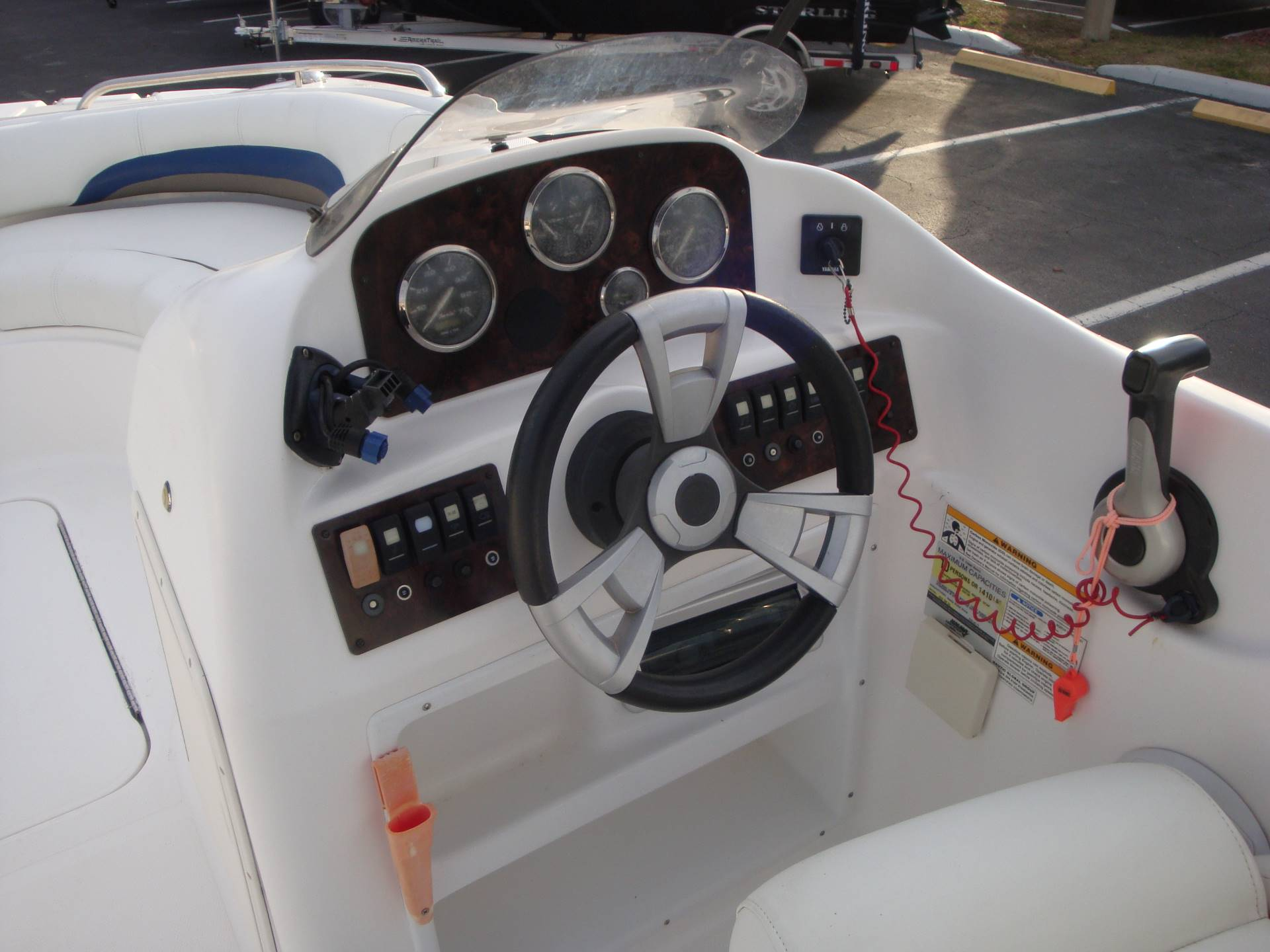 2014 Hurricane SunDeck Sport 188 OB in Holiday, Florida - Photo 39