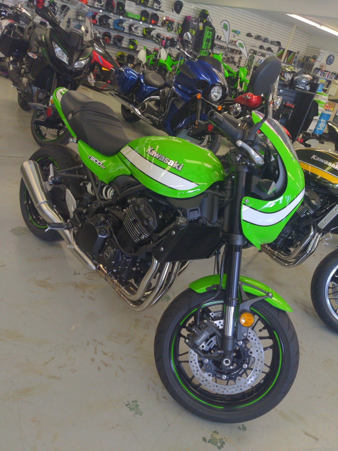 2019 Kawasaki Z900RS Cafe in Annville, Pennsylvania - Photo 1