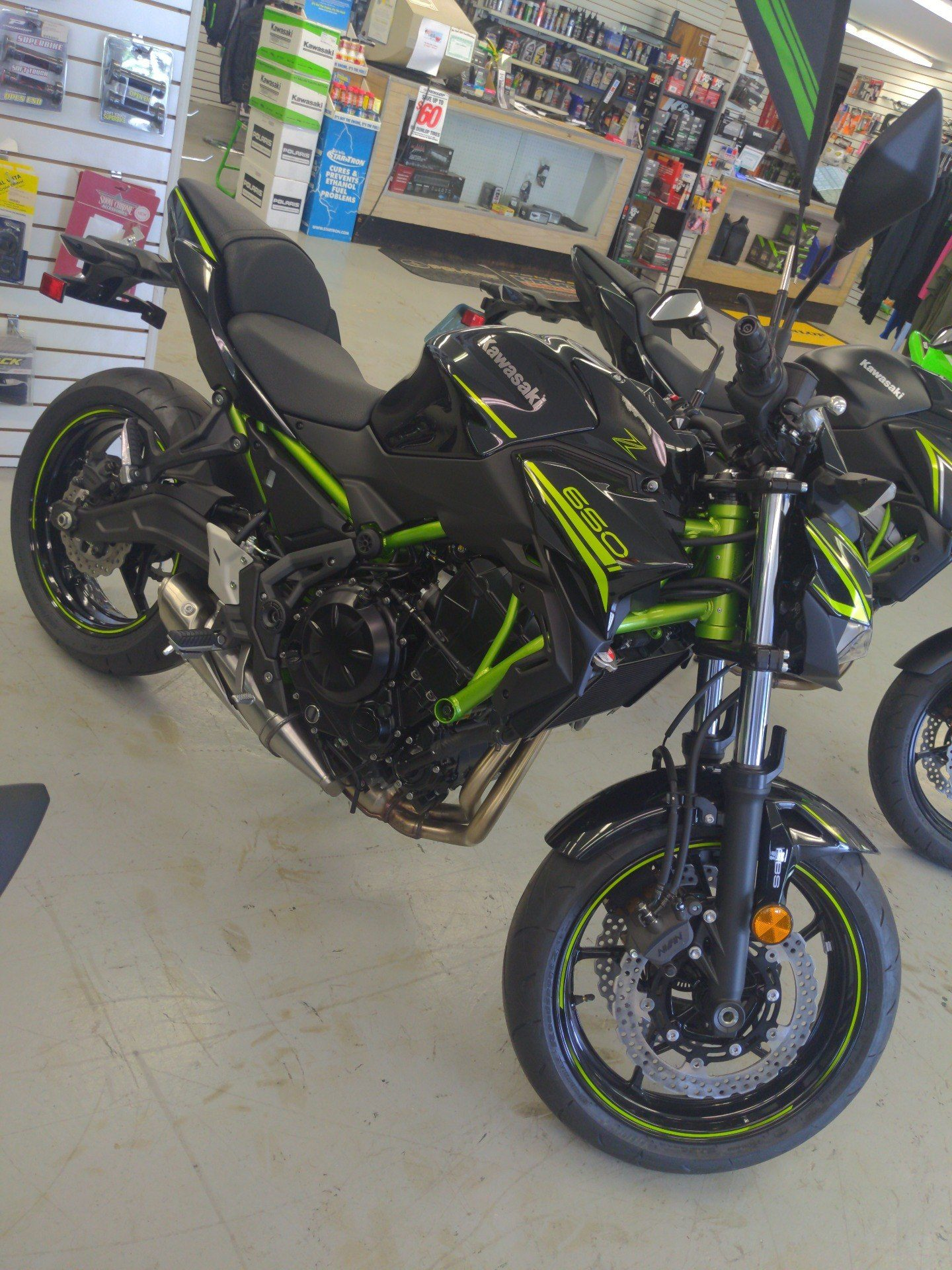 2020 Kawasaki Z650 ABS in Annville, Pennsylvania - Photo 1
