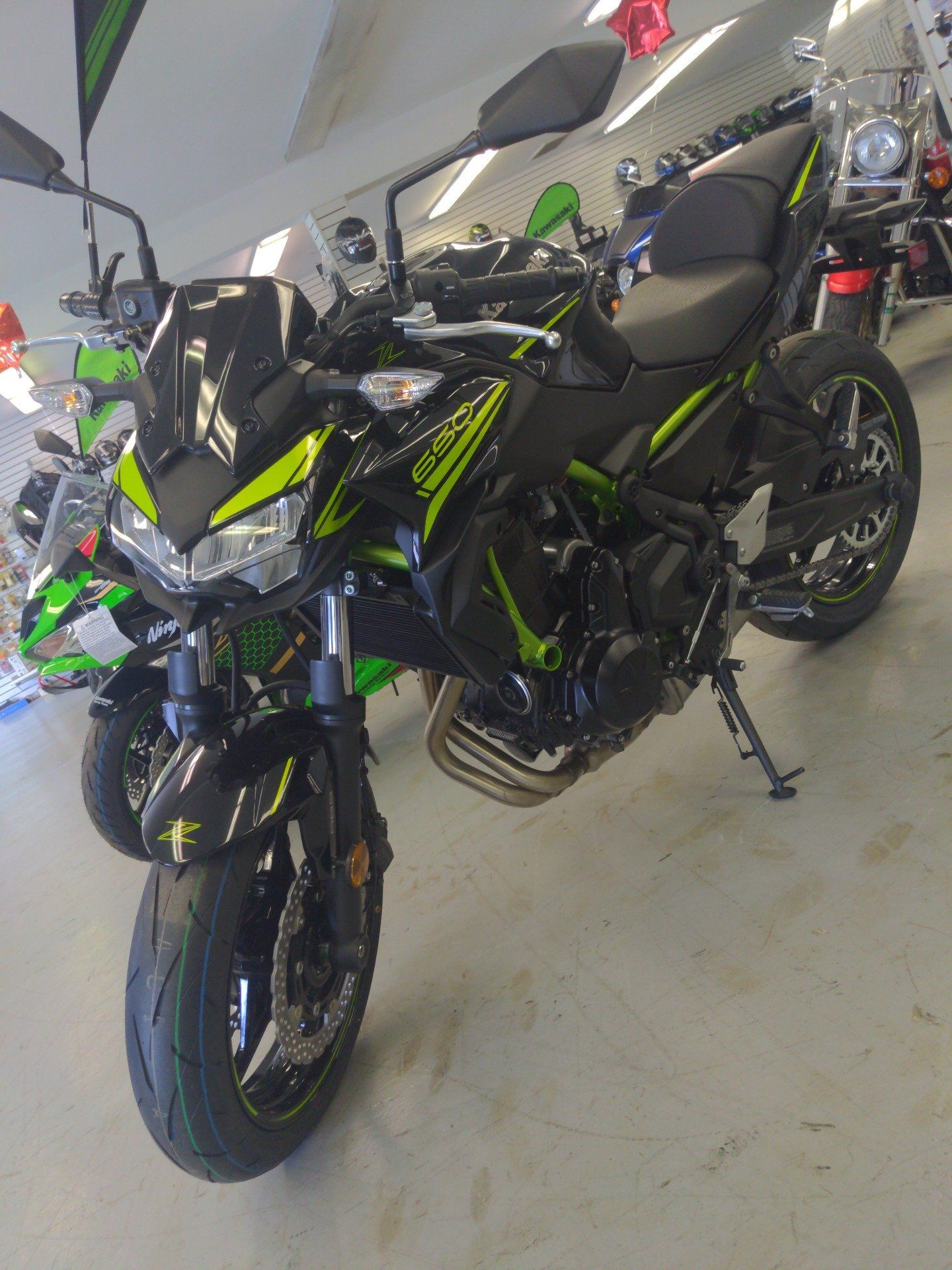 2020 Kawasaki Z650 ABS in Annville, Pennsylvania - Photo 2