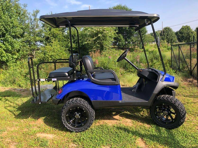 2014 Yamaha Electric Fleet Golf Car in Hendersonville, North Carolina - Photo 2
