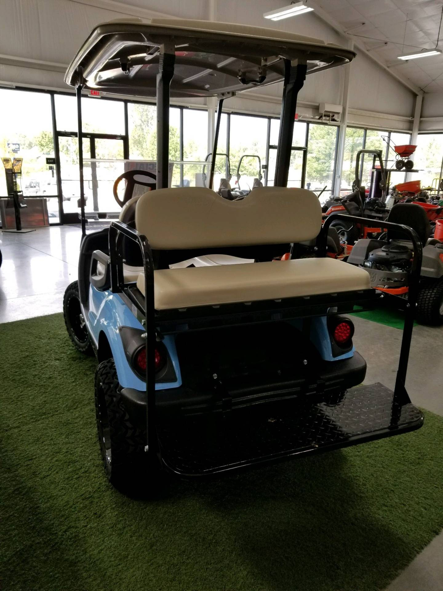 2014 Yamaha Gas Fleet Golf Car in Hendersonville, North Carolina - Photo 3