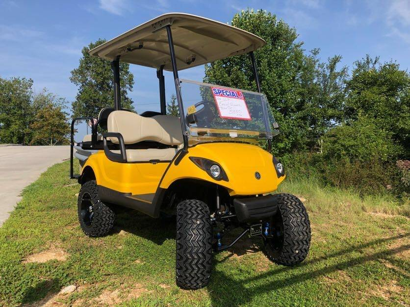 2014 Yamaha Gas Fleet Golf Car in Hendersonville, North Carolina - Photo 1