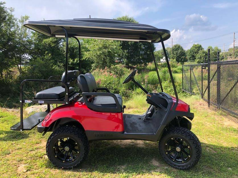 2014 Yamaha Gas Fleet Golf Car in Hendersonville, North Carolina - Photo 2