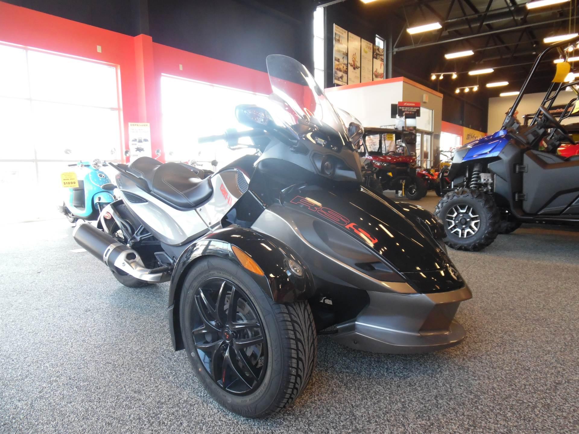 2012 Spyder RS-S SE5