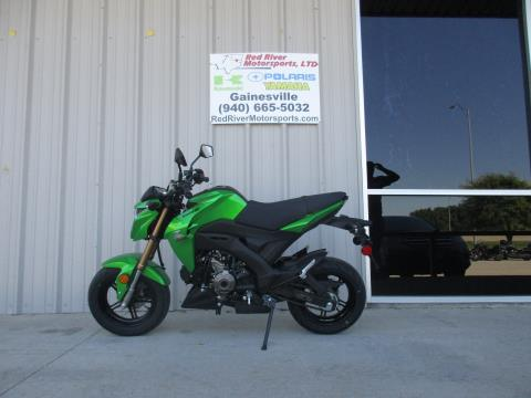 2017 Kawasaki Z125 Pro in Gainesville, Texas