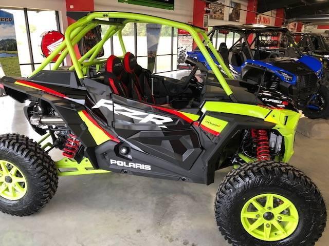 2021 Polaris RZR Turbo S Lifted Lime LE in Bessemer, Alabama - Photo 2