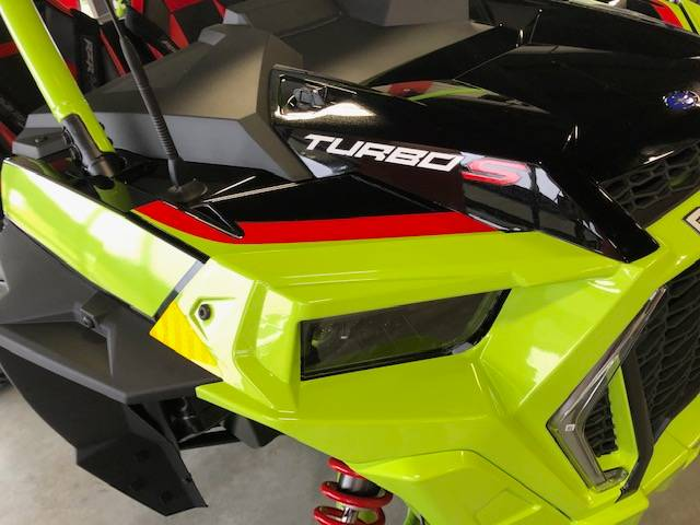 2021 Polaris RZR Turbo S Lifted Lime LE in Bessemer, Alabama - Photo 24