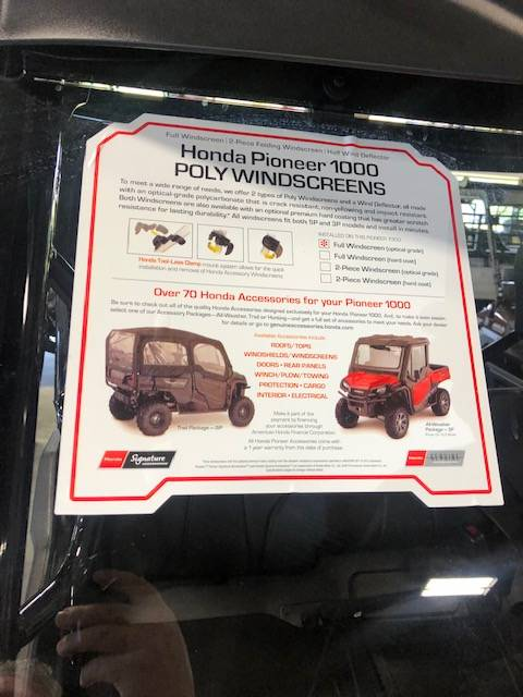 2019 Honda Pioneer 1000 in Bessemer, Alabama - Photo 6