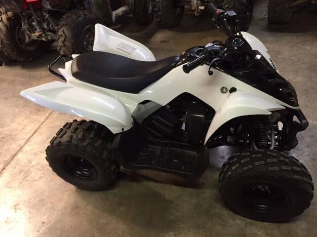 2012 Yamaha Raptor 90 3