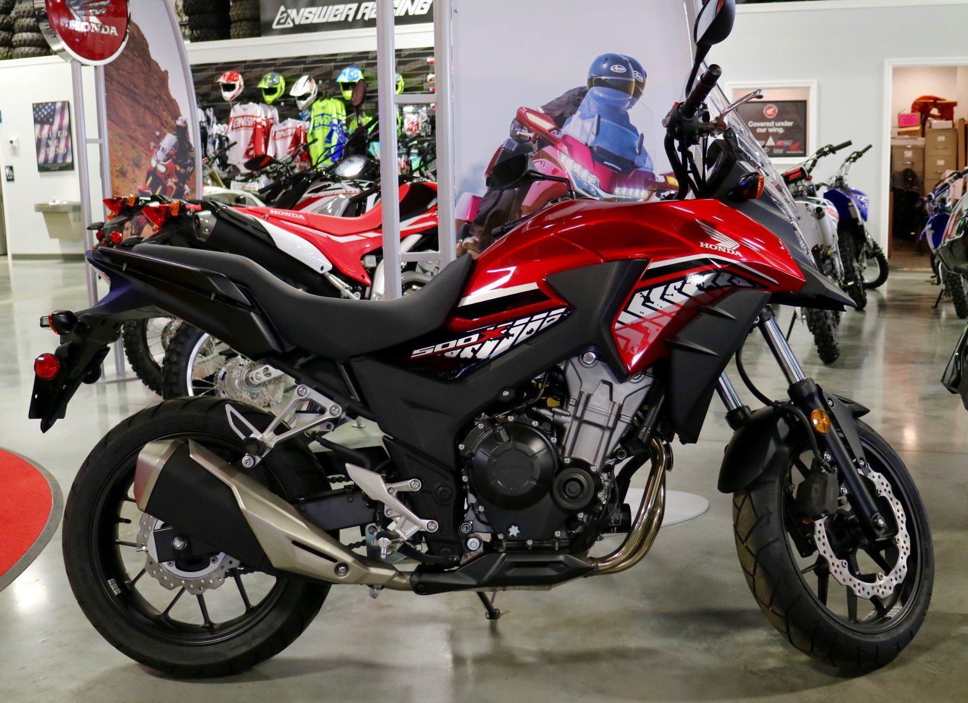 2017 CB500X