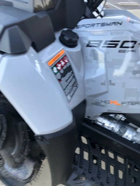 2021 Polaris Sportsman 850 High Lifter Edition in Bessemer, Alabama - Photo 3