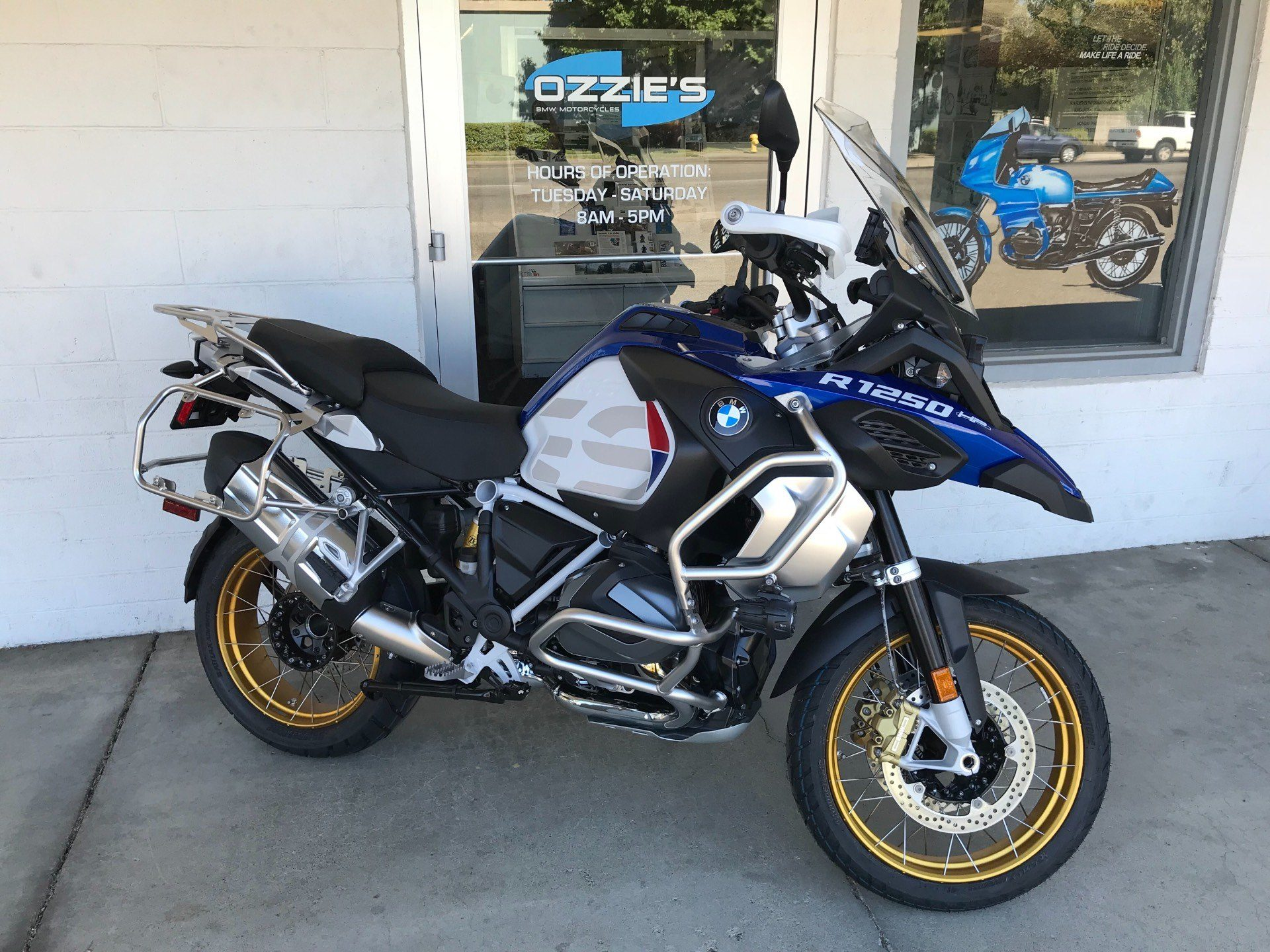 new 2019 bmw r 1250 gs adventure motorcycles in chico ca. Black Bedroom Furniture Sets. Home Design Ideas