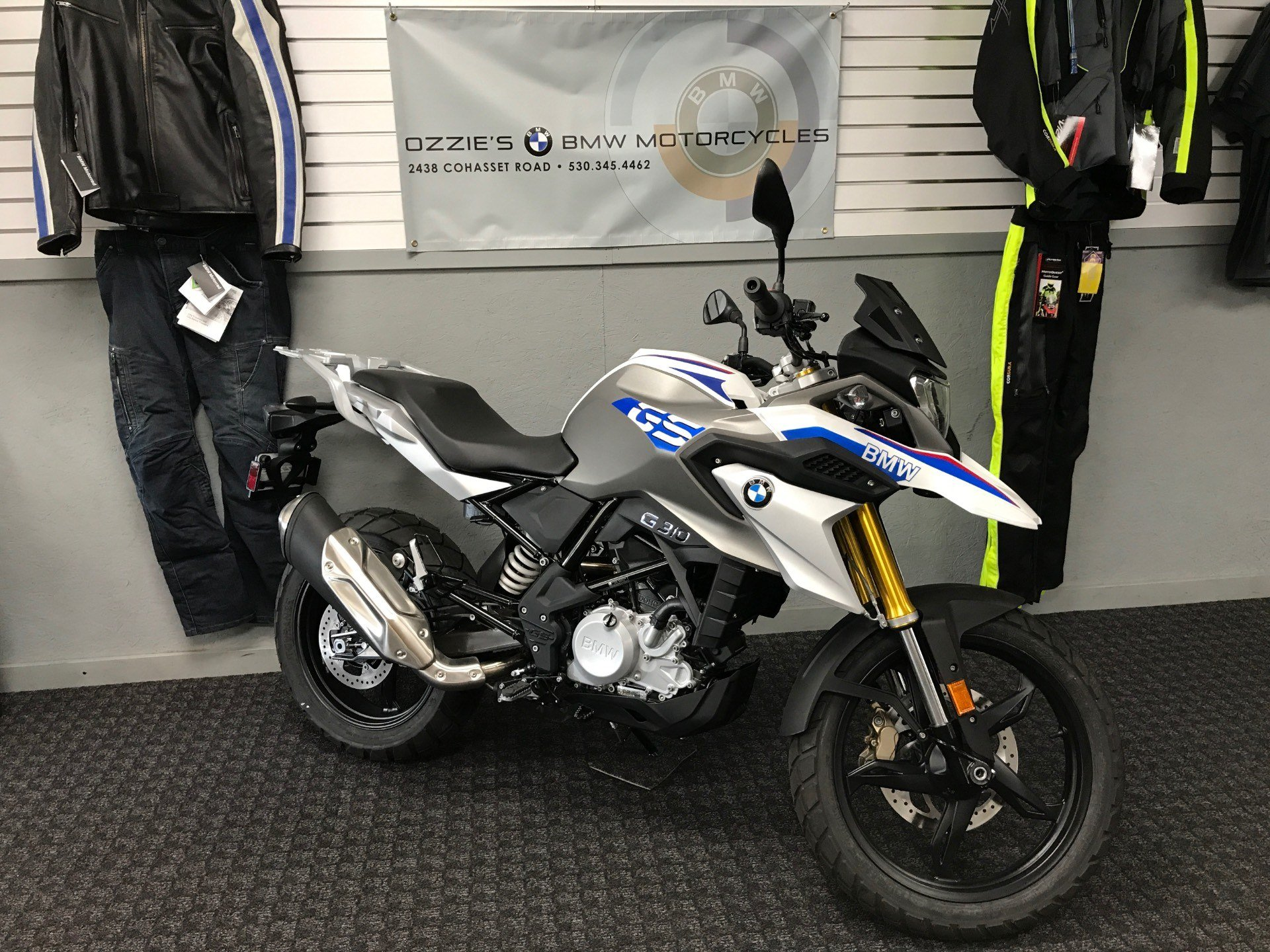 New 2018 Bmw G 310 Gs Motorcycles In Chico Ca Stock Number R825013
