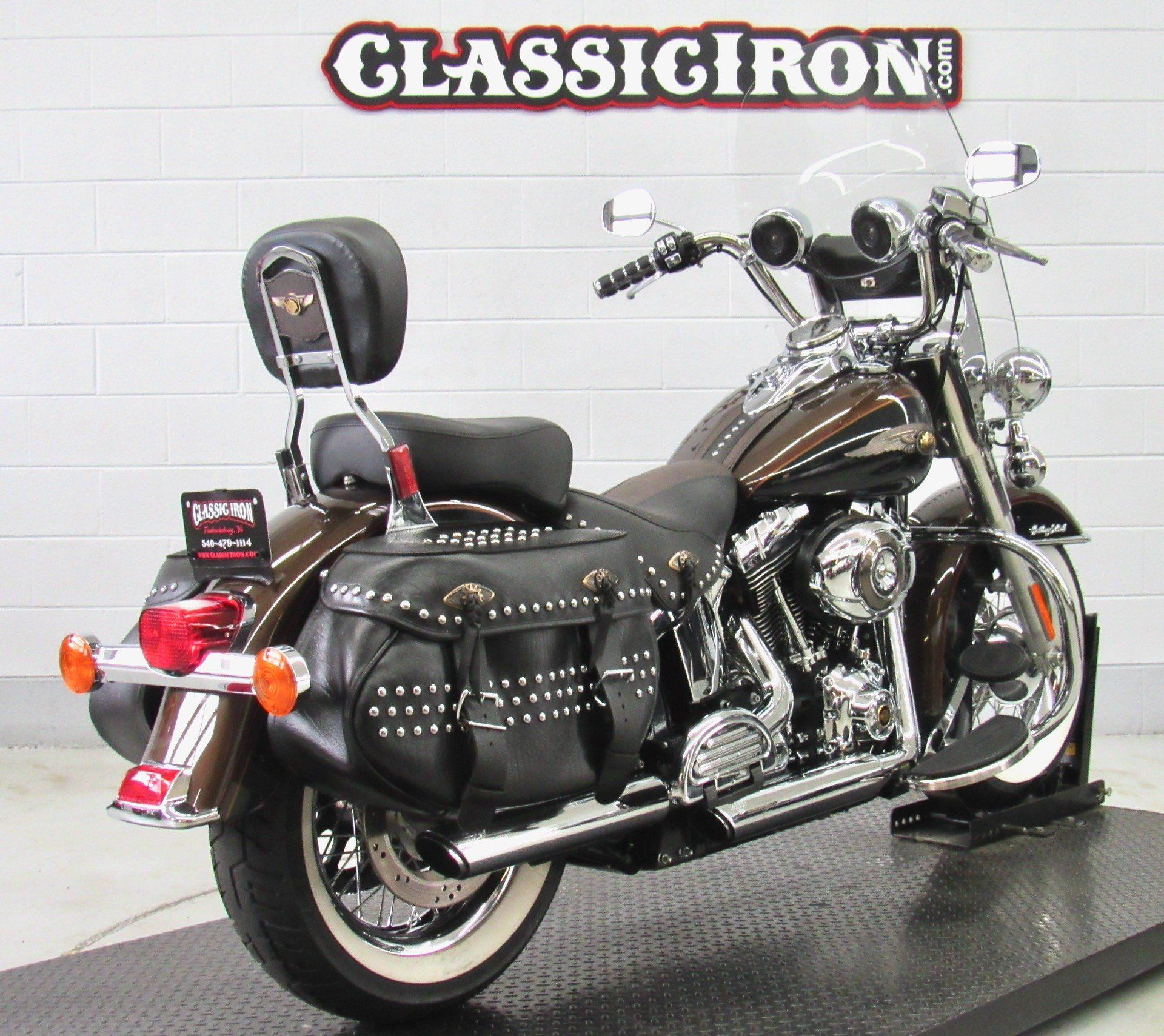 2013 Harley-Davidson Heritage Softail® Classic 110th Anniversary Edition in Fredericksburg, Virginia - Photo 5
