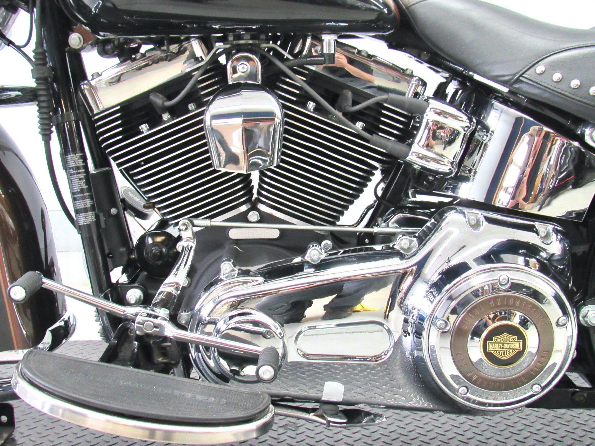 2013 Harley-Davidson Heritage Softail® Classic 110th Anniversary Edition in Fredericksburg, Virginia - Photo 19
