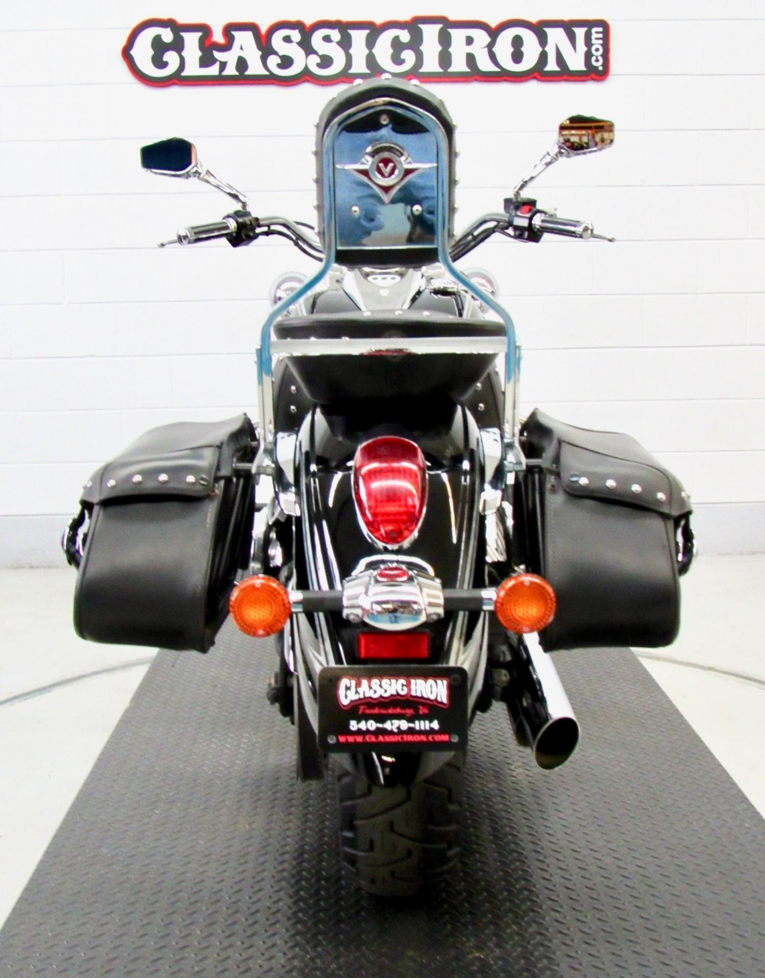 2011 Kawasaki Vulcan® 900 Classic SE in Fredericksburg, Virginia - Photo 9